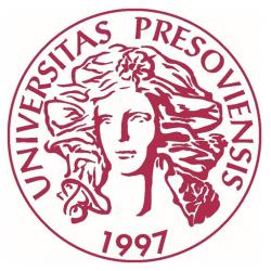 Prešovská univerzita v Prešove PU